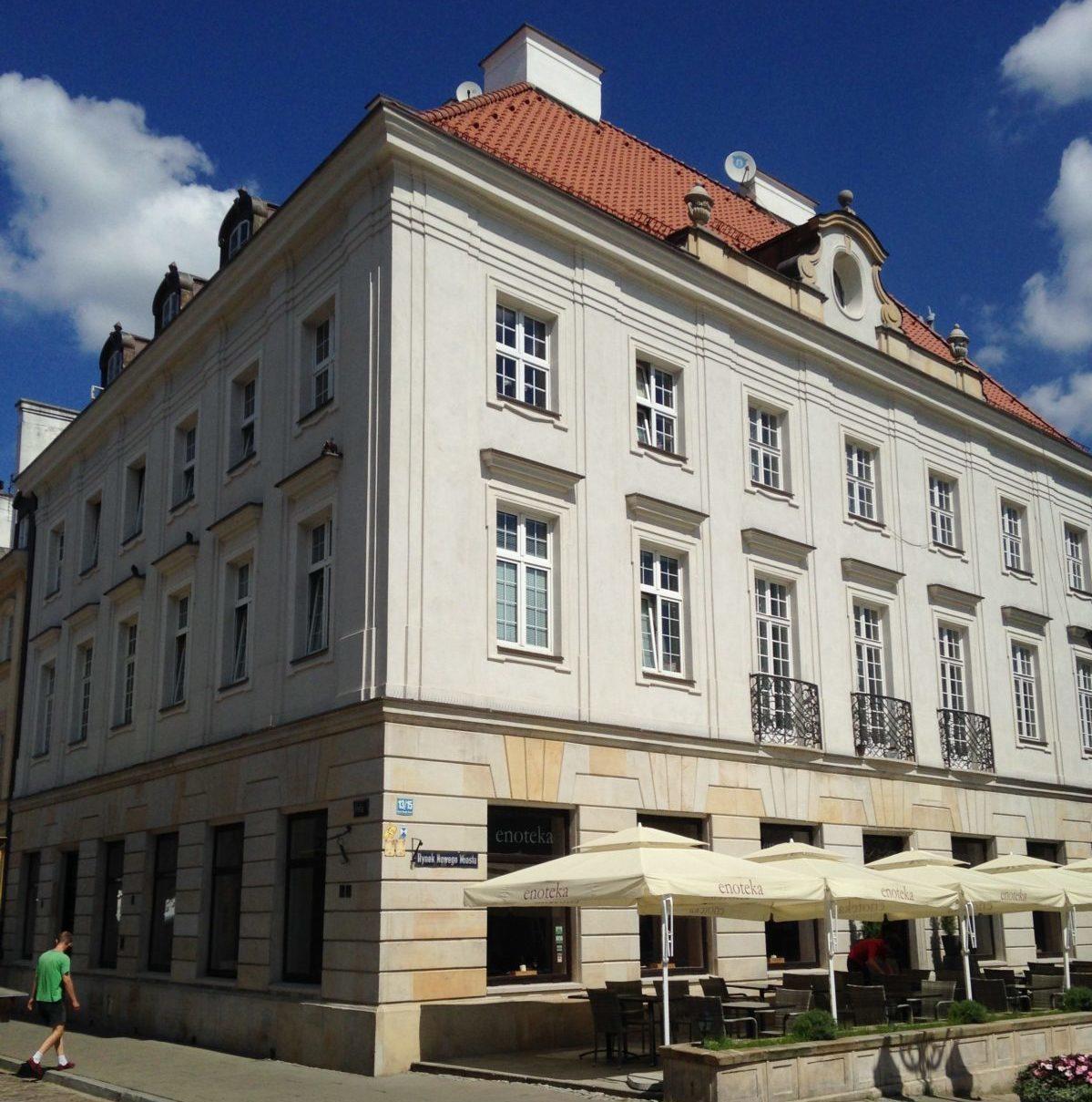 Renowacja kamienicy ul . Freta